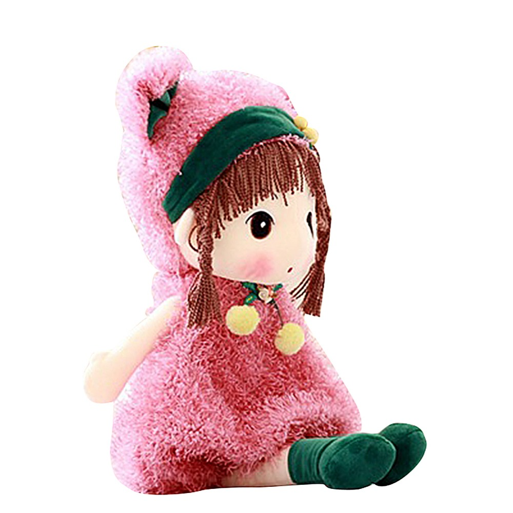 17 inch Stuffed Plush Girl Toy Doll Good Dolly Gift for Kids Baby Lover Halloween Cosplay Gift