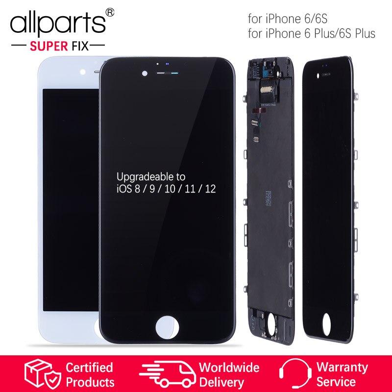 AAA NUEVO pantalla para iPhone 6 Plus LCD 6 splus 6 s Plus LCD Tactil Completa Display táctil Écran para iPhone6 6 s pantalla LCD con marco Digitalizador reemplazo Negro Blanco