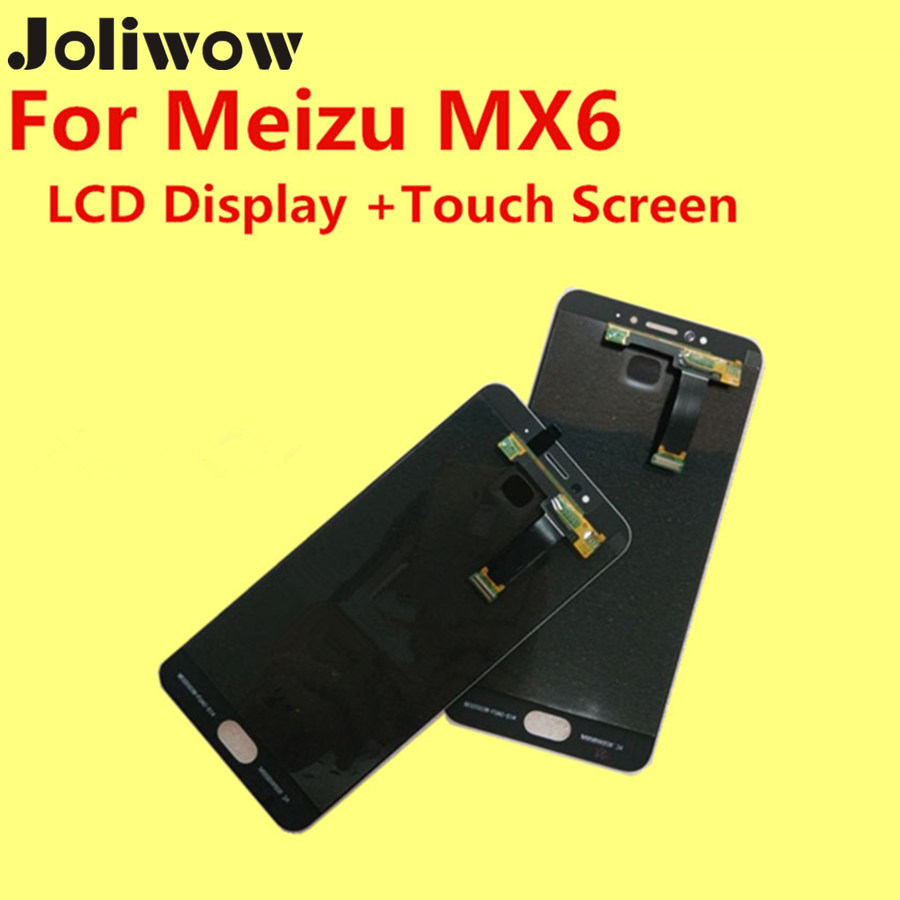 FOR Meizu MX6 LCD Display Touch Screen Frame Tools 100 Original Digitizer Assembly Replacement Accessories For