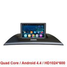 Quad Core 1024*600 Doble 2 din Android 4.4 COCHES Reproductor de DVD GPS Navi PARA BMW X3 E83 2004-2012 volante en el tablero de coches radio