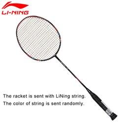 Li-Ning U-Sonic 17 Racchette Da Badminton Con La Stringa In Fibra di Carbonio Professionale Fodera li ning Racchette AYPM226 ZYF214