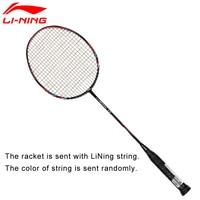 Li Ning U Sonic 17 Badminton Rackets With String Carbon Fiber Professional LiNing Rackets AYPM226 ZYF214