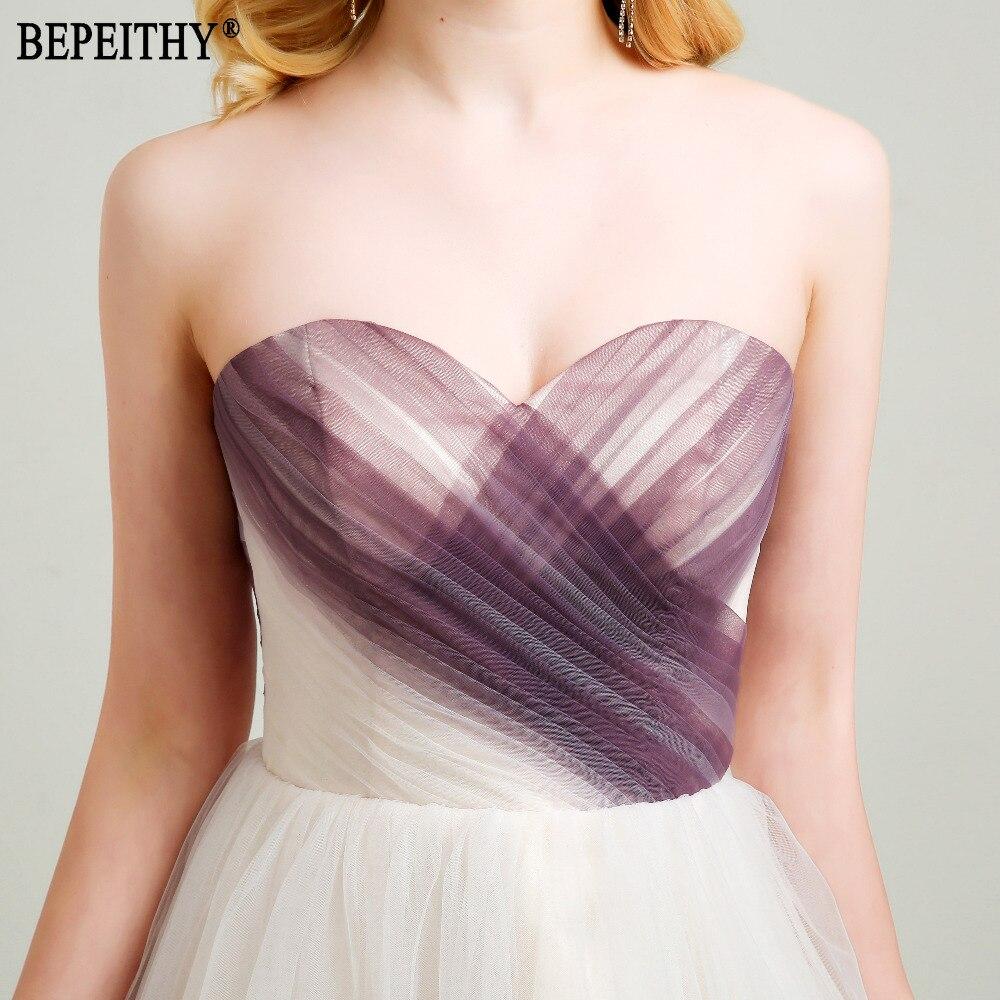 BEPEITHY Nieuw ontwerp Vestido De Festa Longo Sweetheart Plooien - Jurken voor bijzondere gelegenheden - Foto 5