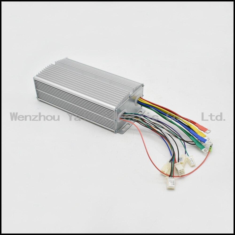 Kontrollues inteligjent pa furça për tub 1000W 48V 60V 24Power për - Çiklizmit - Foto 4