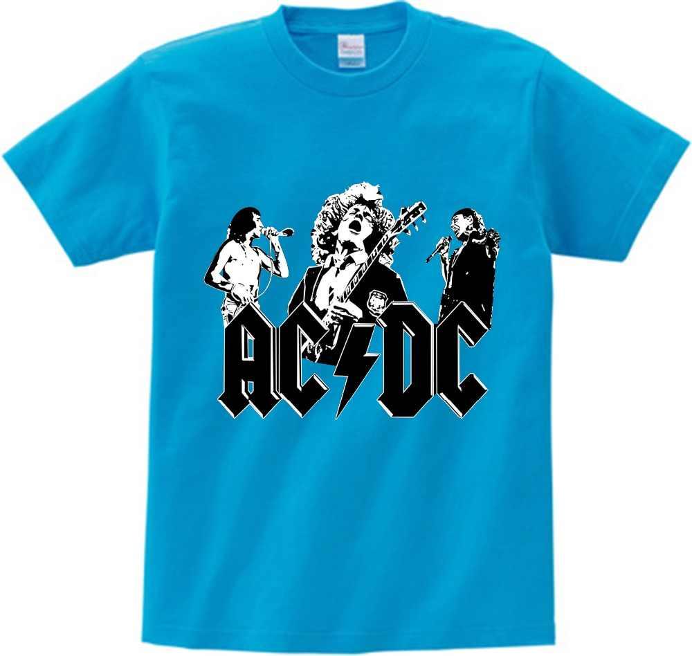 f96ccf3ed Detalle Comentarios Preguntas sobre Niños ACDC rock diseño camiseta ...