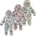 Inverno Macacão de Bebê Recém-nascido do bebê Snowsuit Jumpsuit Quente Desgaste Neve de Algodão Grosso Romper Do Bebê Outerwear Crianças Roupas Traje Infantil