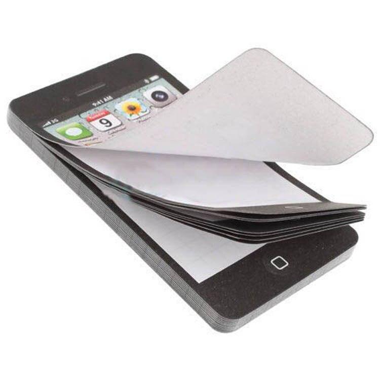 Новое поступление <font><b>Sticky</b></font> пост-это к сведению Бумага сотовый телефон в форме Блокнот подарок для офиса Прямая доставка