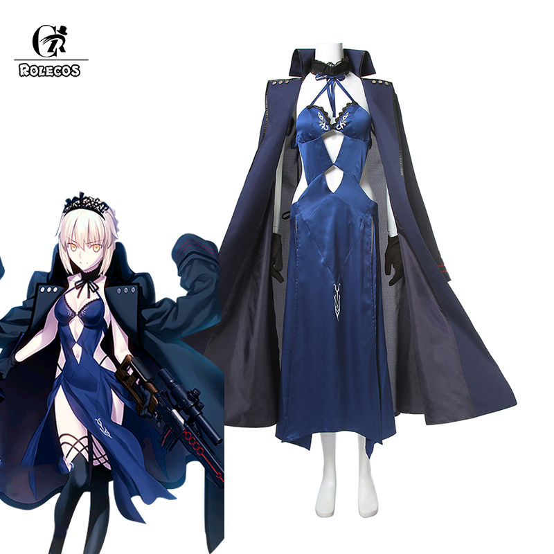 ROLECOS Altria Pendragon Fate Anime Cosplay Costumes Fate Stay Night Game Cosplay Saber Costume Swimsuit Bikini Full Sets