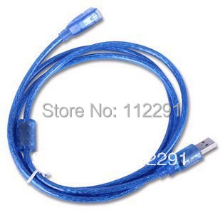 New High Speed USB 2.0 A Male to A Female adaptor Cable 1.5M Blue Extension Cable For Desktop Mouse PC Free Shipping