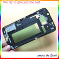 New Faceplate Front Housing Middle Frame Bezel For Samsung Galaxy S6 Edge G925F G925 front Mobile Phone Housings