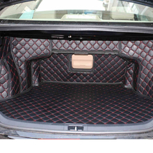 Lsrtw2017 Leather Car Trunk Mat Cargo Liner for Toyota Camry XV50 2012 2013 2014 2015 2016 2017 Rug Carpet Interior Accessories цена