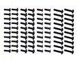 80PCS HSP 1/10 94122 94123 94111 Round head screws Flat head screws M3*10 M3*14 Upgrade Required 02092. 02096. 02097. 08024