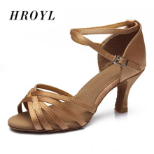 2014  new in store wholesale ballroom dance shoes latin women 7cm heel a kinds of style free shipping