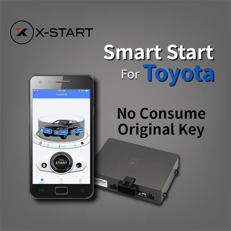 Lexus Remote Start >> x start GPS Tracker remote smart start for toyota rav4 corolla camry Highlander land cruiser ...