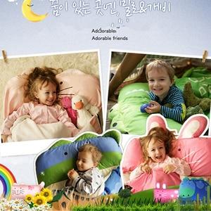 Image 3 - Cartoon Animal Modeling Cotton Baby Sleeping Bag Winter Toddler Girl Boy Child/Kids Warm Sleep Bags,Size:130*105cm,1 4 Yea