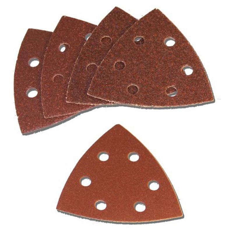 25pcs Polishing Sanding Paper 93mm Woodworking Polisher Sander Paper Wood Hook Loop Sanding Paper Tools