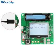 Inductor de diseño portátil, medidor de condensador, pantalla LCD MG328, transistores MOSFET multifunción, probador de diodos con cable para bricolaje