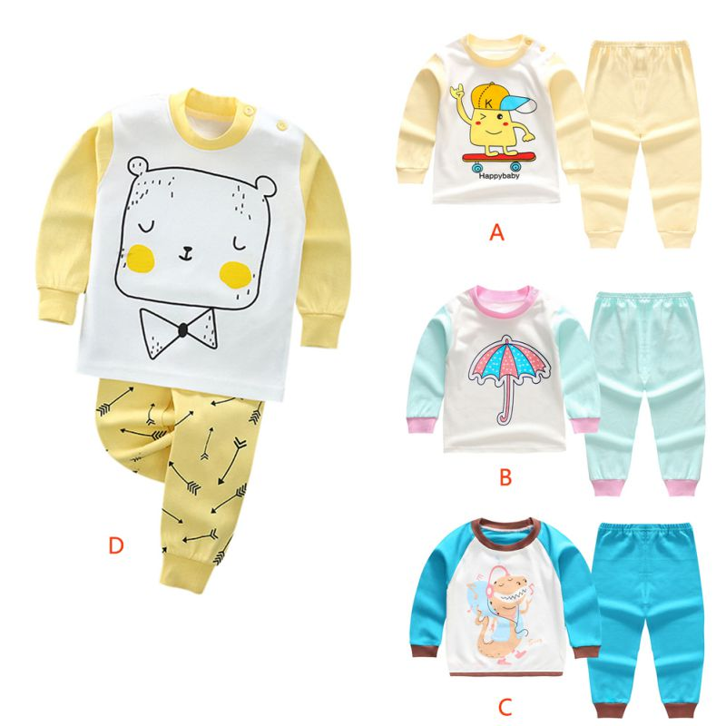 8bb03efbee New Spring Autumn Boy s Girl s Clothing Sets Active Underwear Set Fashion  Kid 2pic Suits Set Toddler Print Baby Tracksuit
