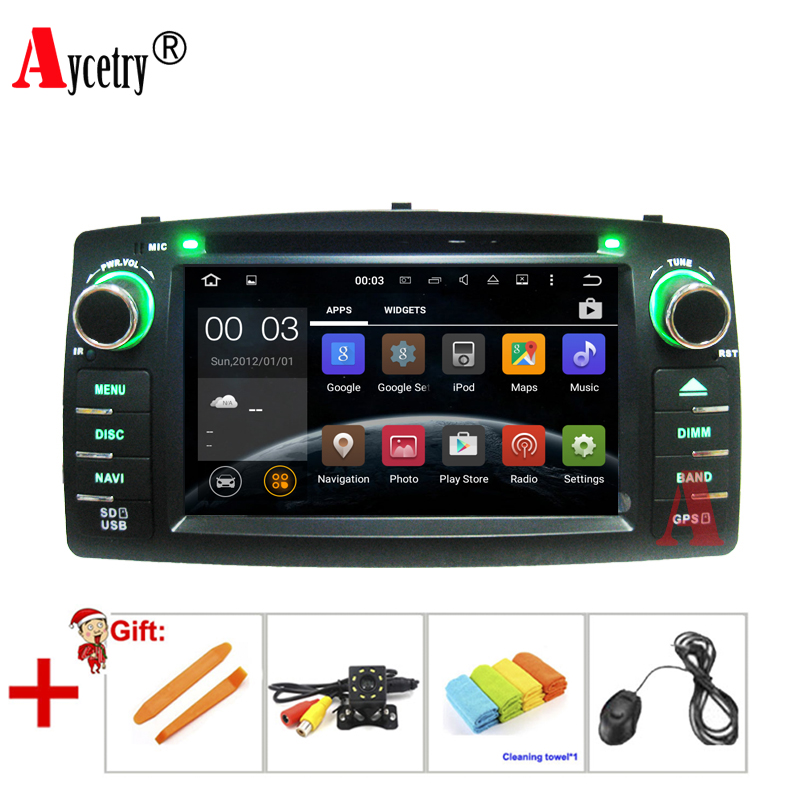 Aycetry For Toyota Corolla E120 BYD F3 two Din android 9 0 8 1 Car DVD