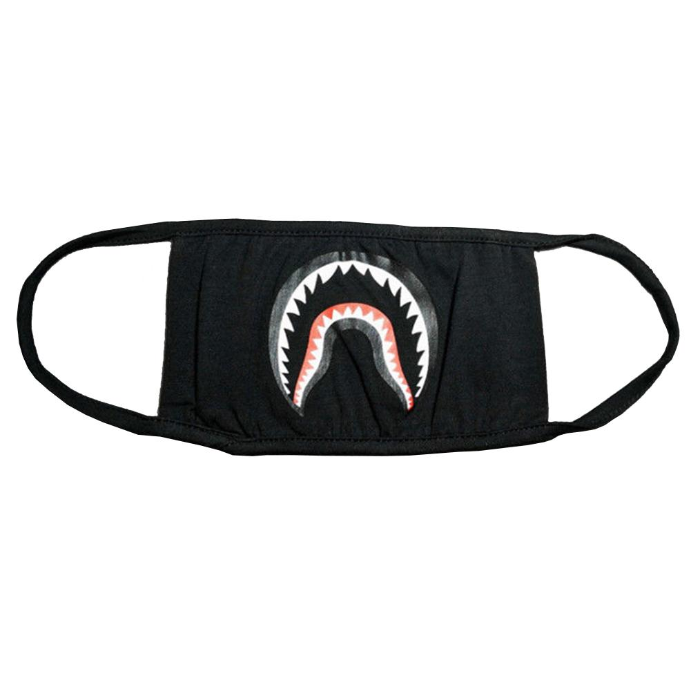 1Pcs Fashion Shark Mask Anti Dust Mouth Masks Face Mask Dental Health Mask For Party Outdoor Activity Face Guard