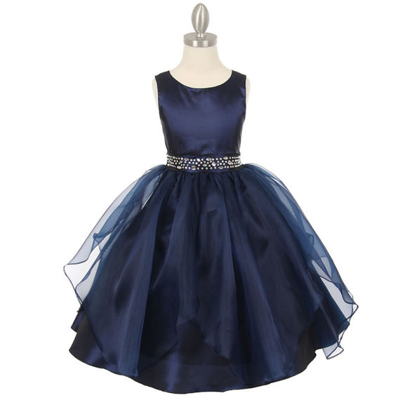 A-Line Flower Girls Dresses For Wedding Gowns Tulle Beauty Pageant Dresses for Kids Mid-Calf Dresses Mother Daughter Dresses short flower girls dresses for wedding gowns fashion kids pageant dresses a line girls clothes tulle mother daughter dresses