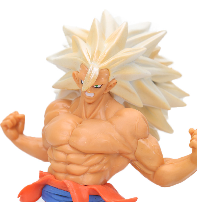 Dragon Ball Z Action Figure Collection – Super Saiyan 3 Son Goku Gokou | 15cm