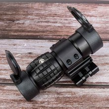 Hunting sight red dot sight scope 3x Magnifier Compact Sight with Flip UP Mount