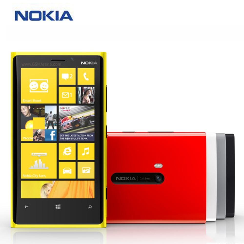 "Original New at&t Version Nokia Lumia 920 Smartphone Nokia rm-820 Mobile Phone 4G LTE 4.5"" 1GB 32GB 8MP Microsoft Windows Phone"