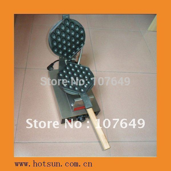 Free Shipping 110V/220V Electric Non-stick Hongkong Eggettes Egg Puff Bubble Waffle Egg waffle Maker-Rotated 180 Degree