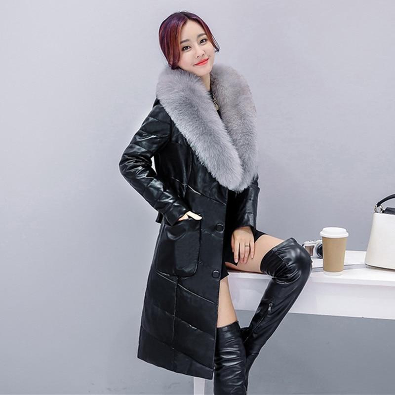 3xl Survêtement Uhytgf Cuir Qualité Bas Nouvelle M Vers Femmes red khaki pink 88 Fox D'hiver Col gray Chaud Casual Le En De Moutons Peau Luxe Fourrure Haute Black Veste RBwR8