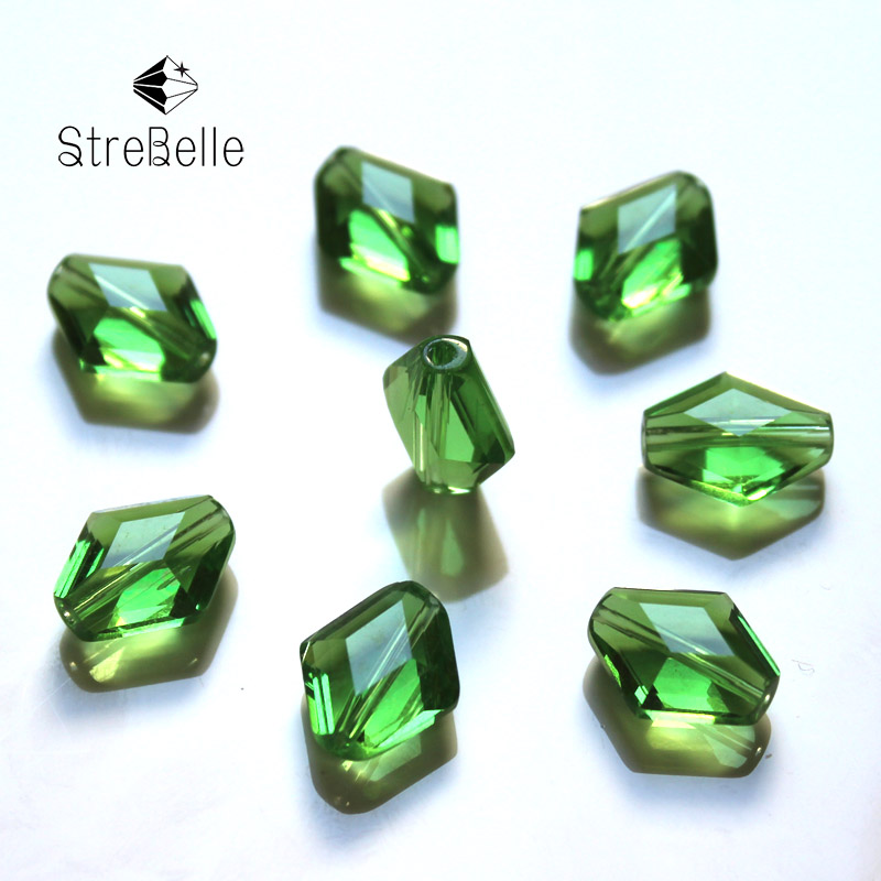 StreBelle Top AAA Crystal Beads For Bracelet Jewelry DIY Beads 100pcs Bag 12x14mm in Beads from Jewelry Accessories