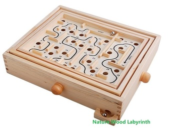 2019 Labyrinth Wooden Toys Kids Toy Wood Puzzle Magic Cube Family Games Children Desk Game Toy Pinball Maze Board Game kid gift shark bite game funny toys desktop fishing toys kids family interactive toys board game