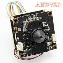 AHWVE Mini POE IP كاميرا وحدة المجلس مع IRCUT لتقوم بها بنفسك كاميرا تلفزيونات الدوائر المغلقة ل قبة كاميرا مصغرة 1080P 2MP تطبيق جوال XMEYE 3.7 مللي متر عدسة