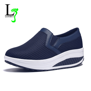 Image 1 - 2020 Women Shoes Mesh Breathable Summer Shoes Flats Women Loafers Casual Swing Shoes Women Flootwear Size 35 42
