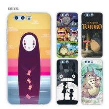 KMUYSL My Neighbor Totoro Anime TPU Transparent Soft Case Cover for Huawei Honor 9 8 Lite 7X 6A 6X 6C Pro 10