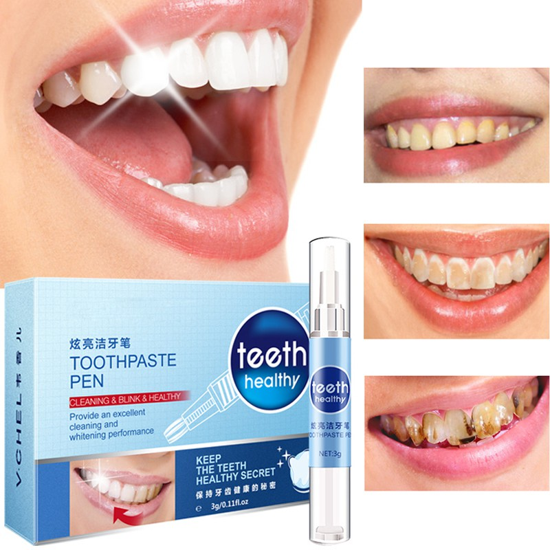 Creative Effective Teeth Whitening Pen Tooth Gel Whitener Bleach Stain  Eraser Sexy Celebrity Smile Teeth Care-in Teeth Whitening from Beauty &  Health on ...