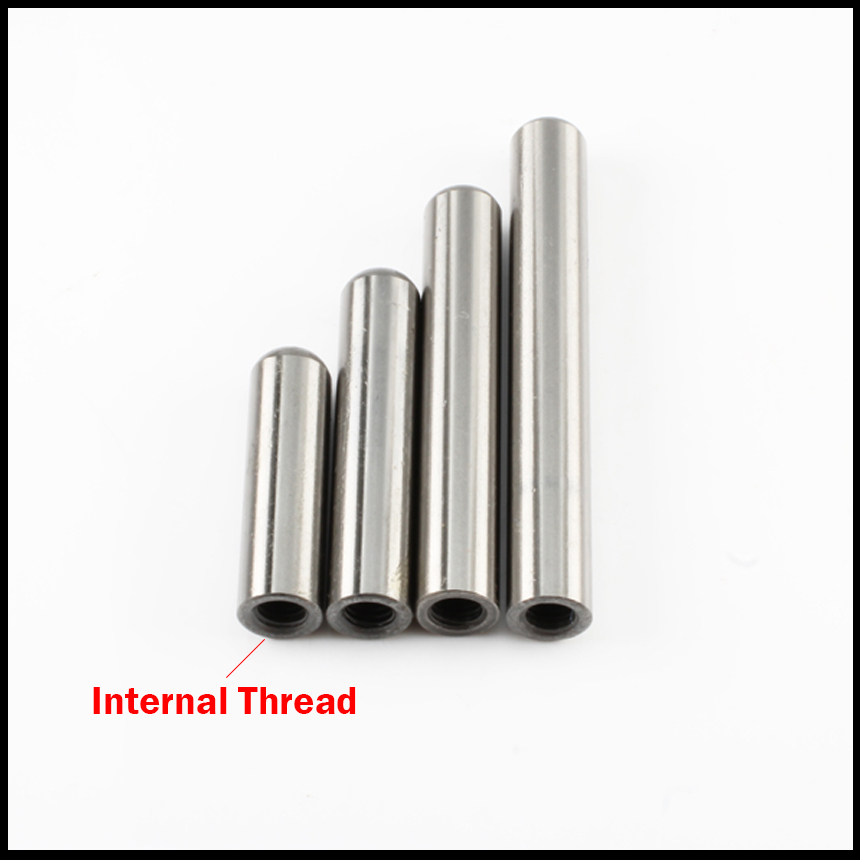 5*20mm 5x20mm 5*25 5x25 5*30 5x30 M3 Inside Thread SUJ2 HRC60 High Precision Tapping Cylinder Round Location Dowel Parallel Pin