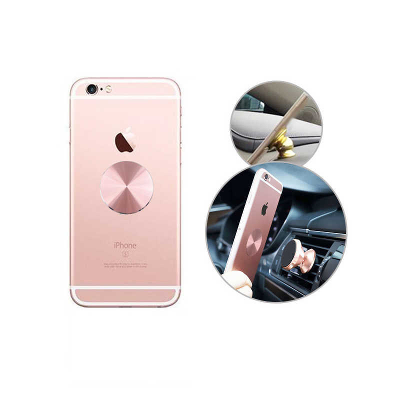 Pemegang untuk Ponsel Anda, Pelat Logam untuk Magnetik Dudukan Telepon Mobil Magnetik Pemegang Dudukan
