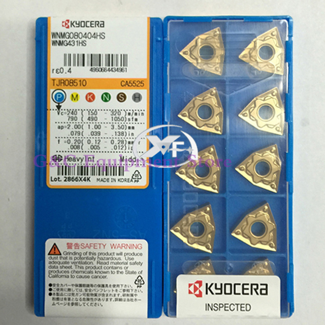 NEW ORIGINAL WNMG080404HS CA5525 CARBIDE INSERTS CNC TOOL PART