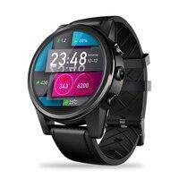 Zeblaze Thor 4 PRO г Смарт часы для мужчин Wi Fi gps/ГЛОНАСС Smartwatch 16 ГБ + 1 ядра 600 мАч Кристалл дисплей часы телефонные звонки