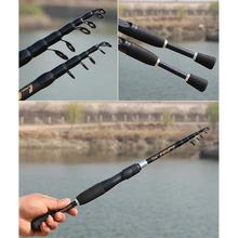 Portable Telescopic Lure Rod Ceramic Conductor Ring Carbon Long-distance Fishing Rod цена