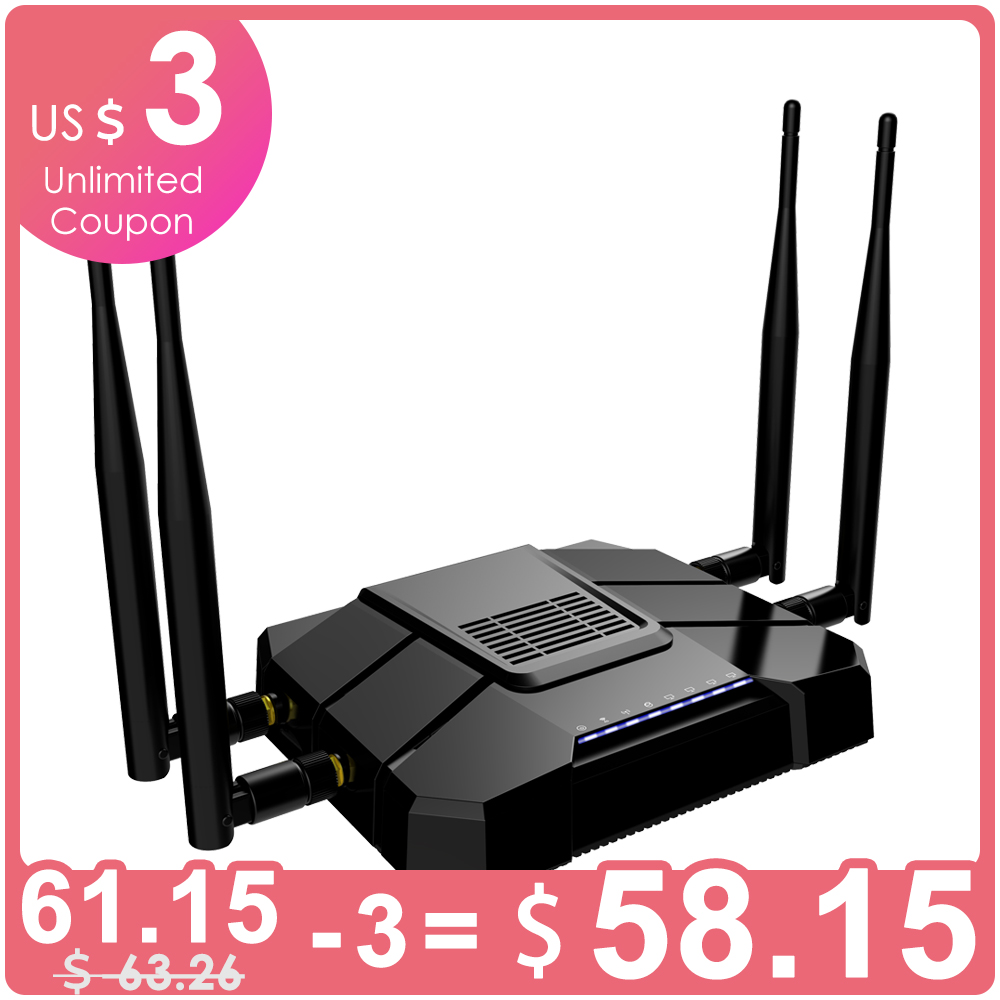 Cioswi WR246 modem 3g 4g wifi with sim card slot wireless wifi router 1200Mbps Wifi Repeater 5Ghz Openwrt Router