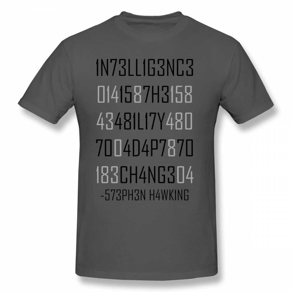 Физика футболка адаптация или штампованная футболка негабаритная уличная футболка 100 хлопок короткий рукав Забавный принт Мужская футболка