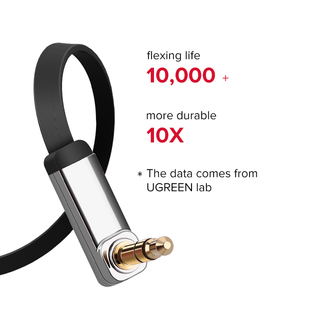 Ugreen AUX Cable Jack 3.5mm Audio Cable 3.5 mm Jack Speaker Cable for JBL Headphones Car Xiaomi redmi 5 plus Oneplus 5t AUX Cord 2