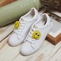 free shipping 2017 spring new fashion women shoes casual sport breathable PU platform smile women casual shoes
