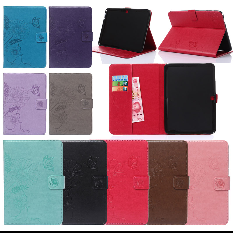 For Samsung T530 PU Leather Stand Cover Case For Samsung Galaxy Tab 4 10.1 T530 T531 T535 Tablet Accessories Y4D33D pu leather tablet case cover for samsung galaxy tab 4 10 1 sm t531 t530 t531 t535 luxury stand case protective shell 10 1 inch