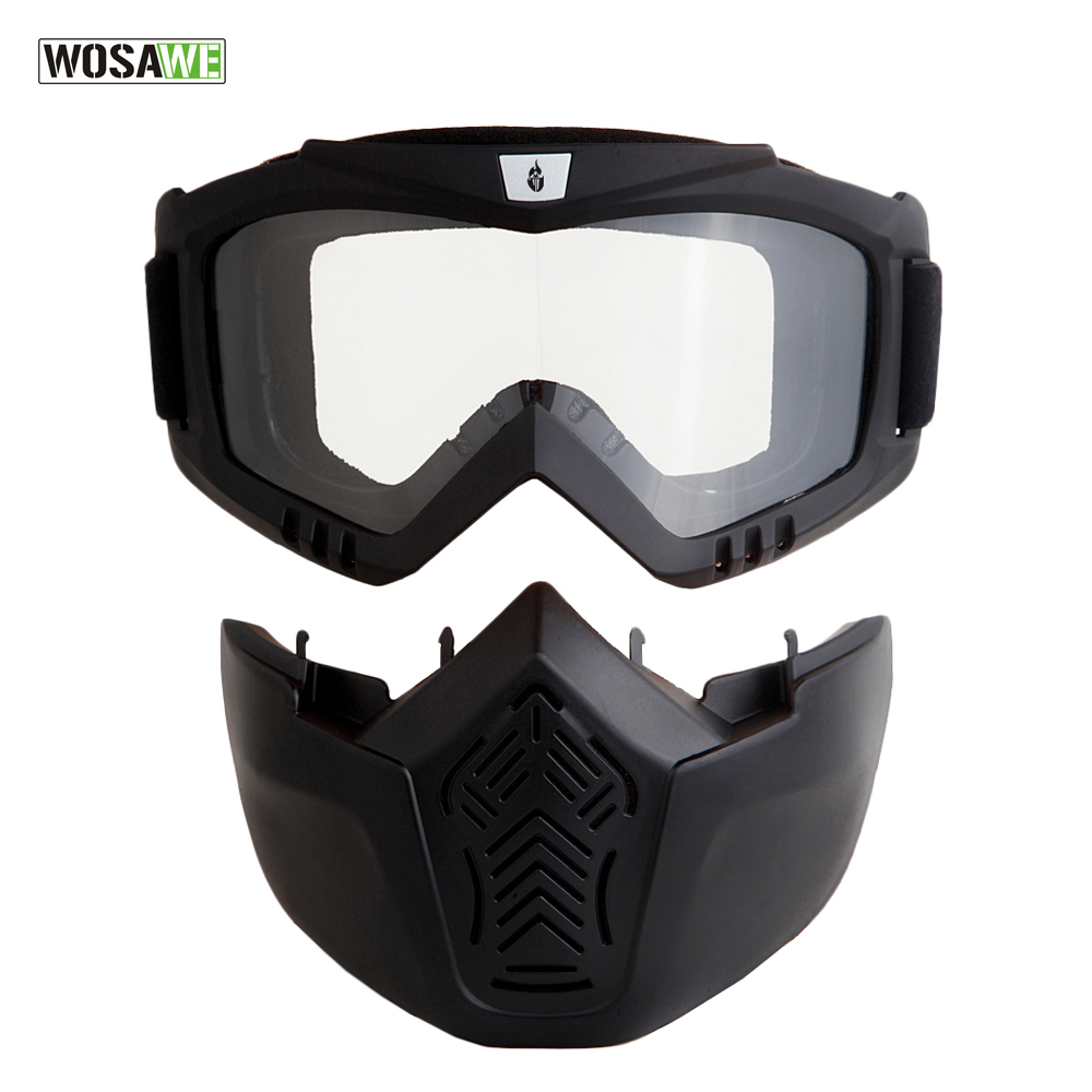 787c796883 Σκι και σνόουμπορντ Men Women Windproof Snowboard Goggles Ski Glasses  Motocross Glass with Face Mask Protection Gear UV protection