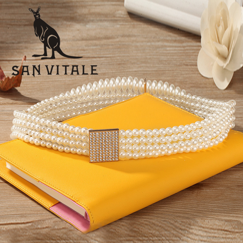 Women'S Cummerbund Belts Gold Waistband Gift Buckles Famous Brand For Dress Luxury Brand Ratchet Reversible Buckle 2018 New