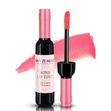 1 шт., сексуальный водонепроницаемый винно-красный тинт-блеск для губ, детские розовые губы для женщин, жидкая помада для макияжа, блеск для губ, косметические инструменты