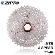 ZTTO 8s 11-40T Cassette 8 Speed Freewheel Steel Flying Bicycle Parts for M410 K7 X4 MTB